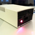 Disk II styled USB SD Card Reader