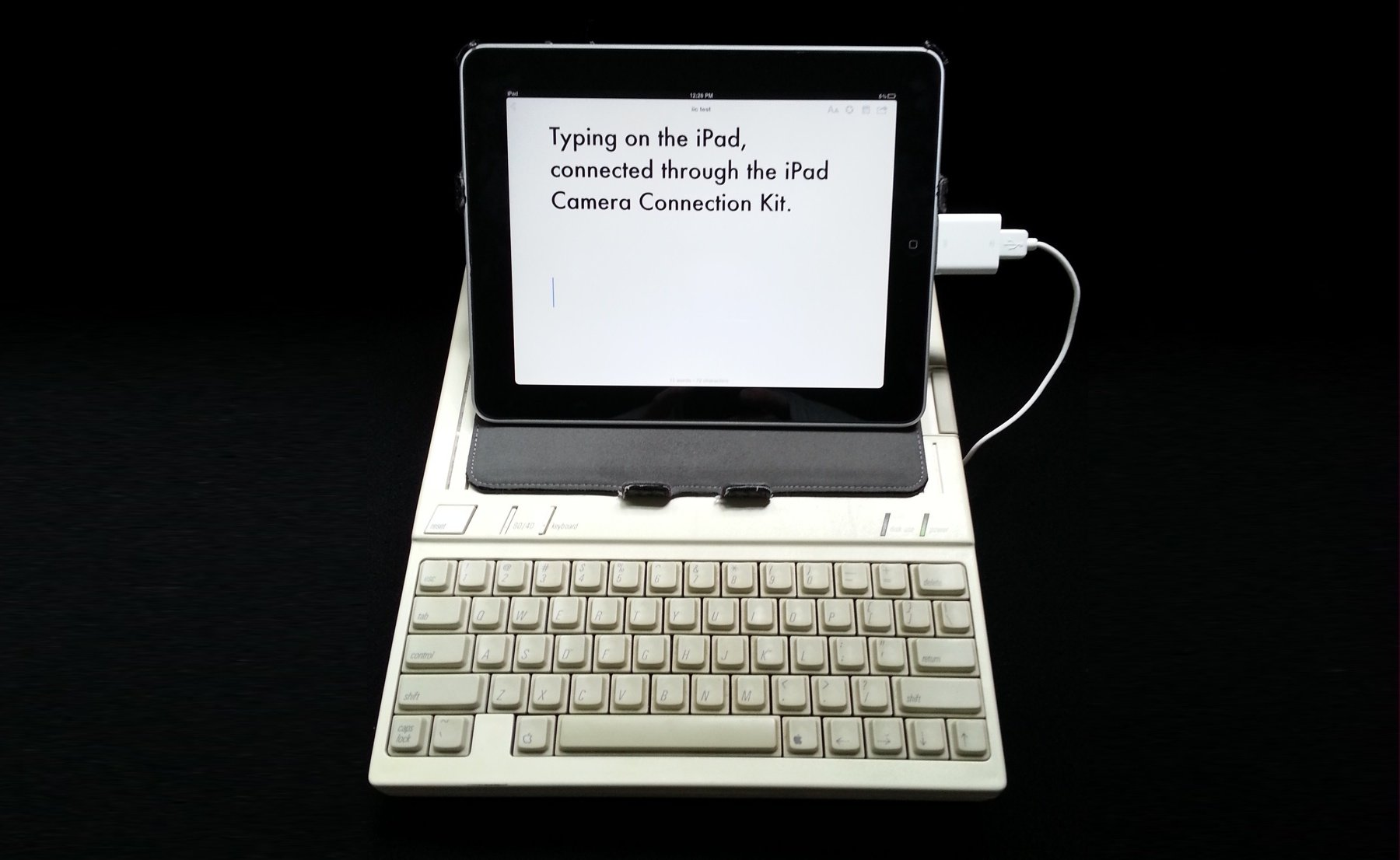 Hook up mac keyboard to ipad