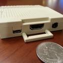 Apple IIc Raspberry Pi case