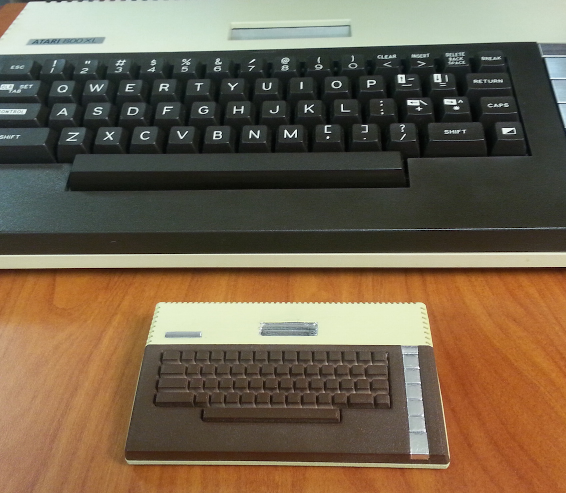 Atari 800XL Raspberry Pi Model A+ case