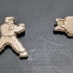 Karateka Pendants